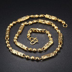 OPK Gold Domineering Men's Necklace